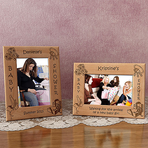 Baby Shower Wooden Picture Frame