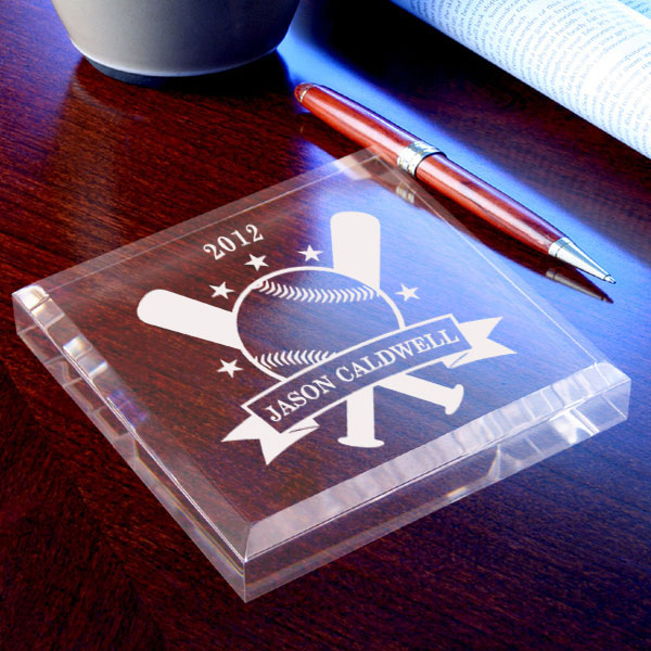 Baseball All-Star Keepsake & Paperweight
