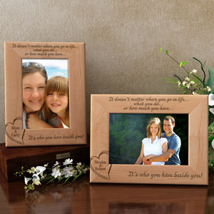 Always Beside You Wooden Picture Frame
