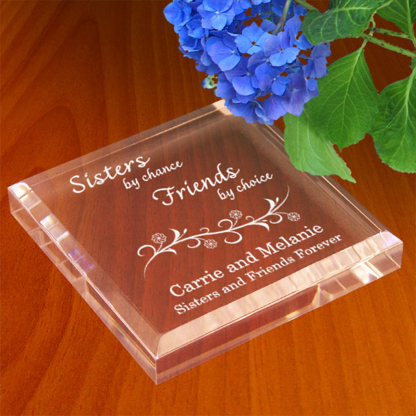 Sisters & Friends Keepsake & Paperweight