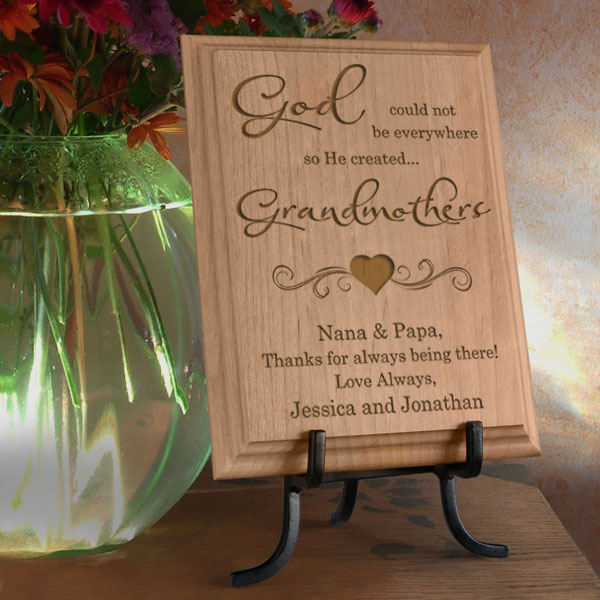 God Created You Wooden Plaque