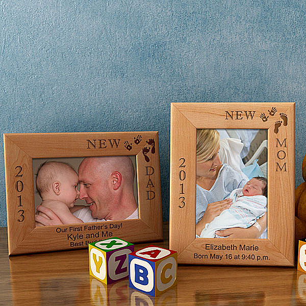 I'm The New...Wooden Picture Frame