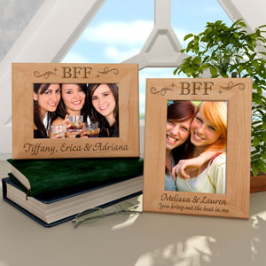 BFF Wooden Picture Frame