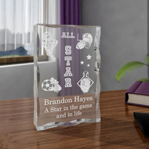 All-Star Sports Keepsake