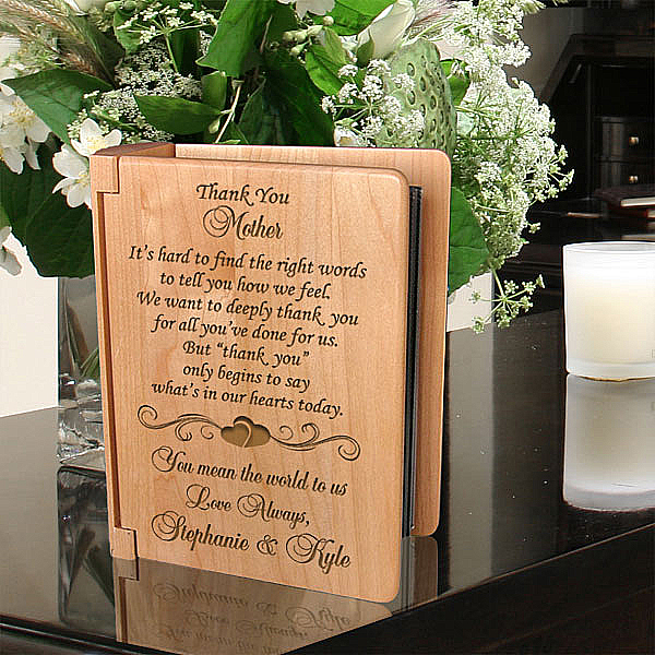 Thank You on My Special Day Wooden Photo Album