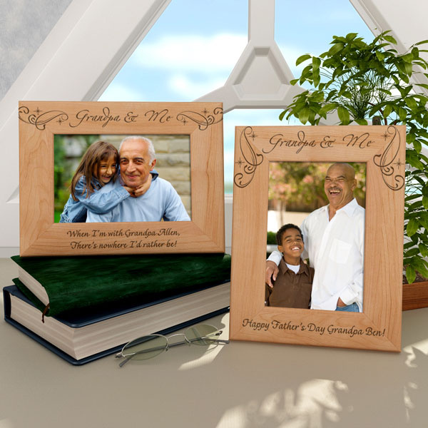 Royale Grandpa & Me Wooden Picture Frame