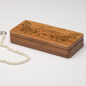 Outpouring of Love Wooden Jewelry Box