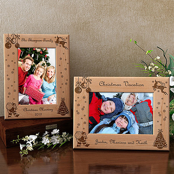 Create Your Own Christmas Wooden Picture Frame