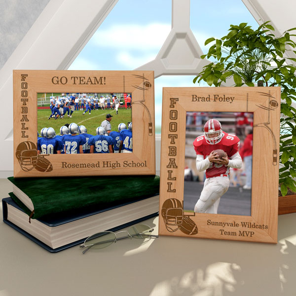 Football Wooden Picture Frame