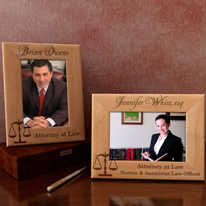 Lawyer Wooden Picture Frame