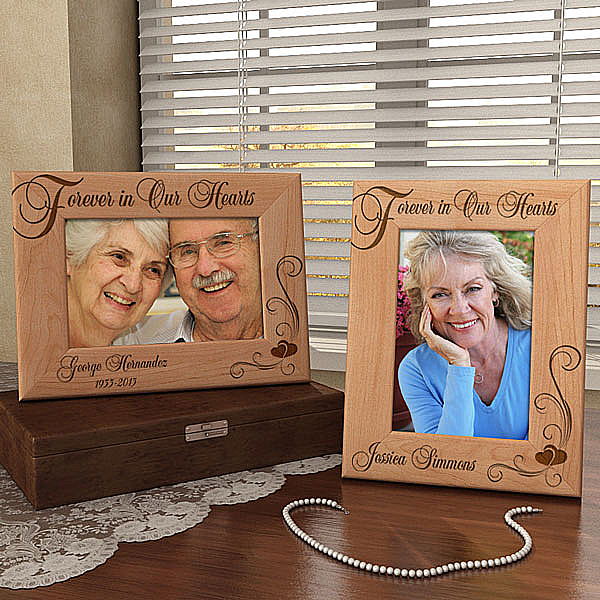 Forever in Our Hearts Wooden Picture Frame