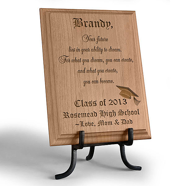 Congratulations Graduate Wooden Plaque