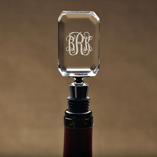 Monogram Wine Stopper