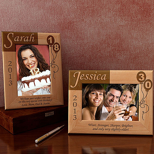 My Birthday Memories Wooden Picture Frame