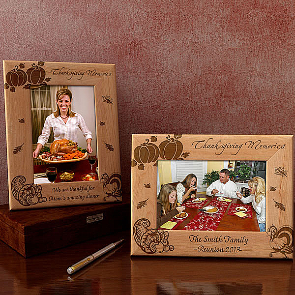 Thanksgiving Wooden Picture Frame