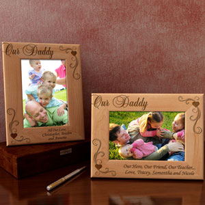Our Daddy Wooden Picture Frame