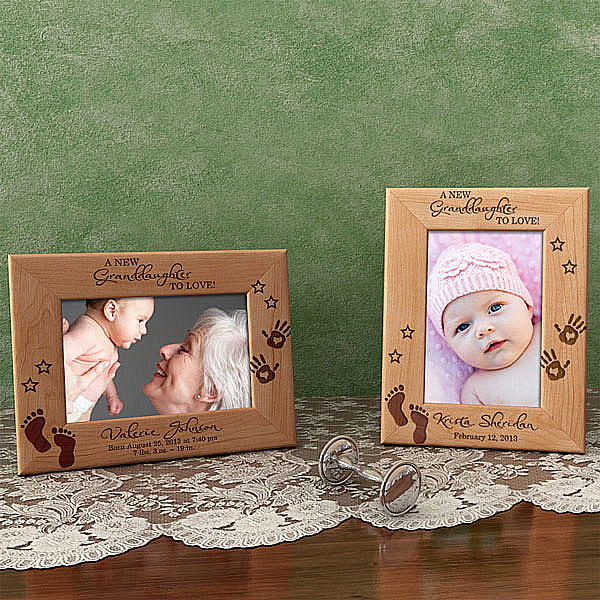 A New Love Wooden Picture Frame