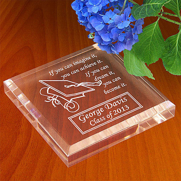 Graduation Cap Keepsake & Paperweight