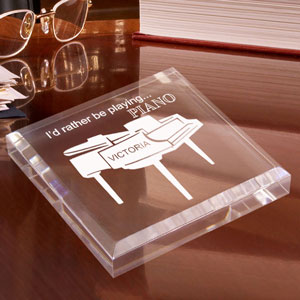 Piano Keepsake & Paperweight