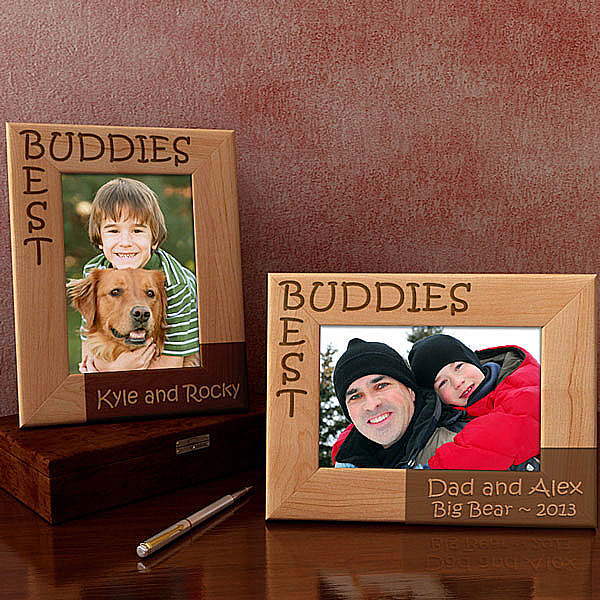 Best Buddies Wooden Picture Frame
