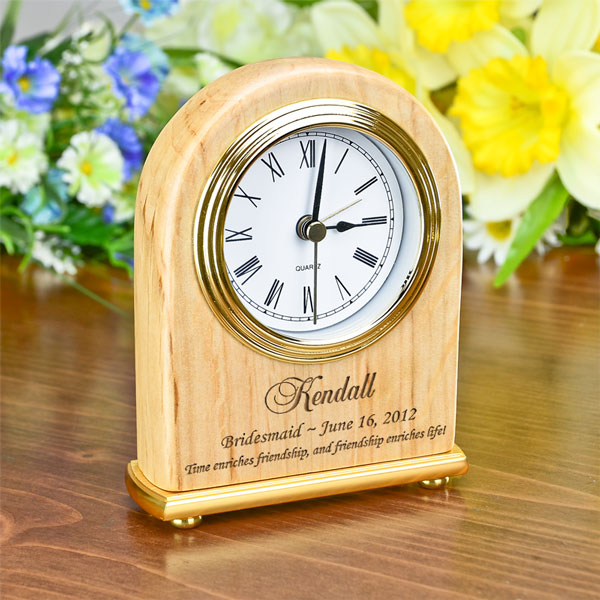 Bridesmaid Arch Clock