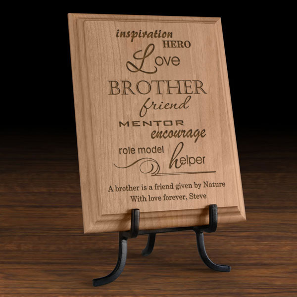 A Sibling is... Wooden Plaque
