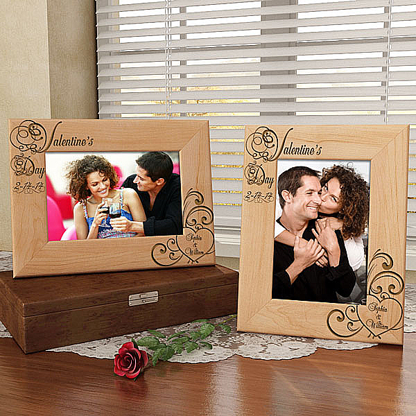 Valentine's Day Wooden Picture Frame