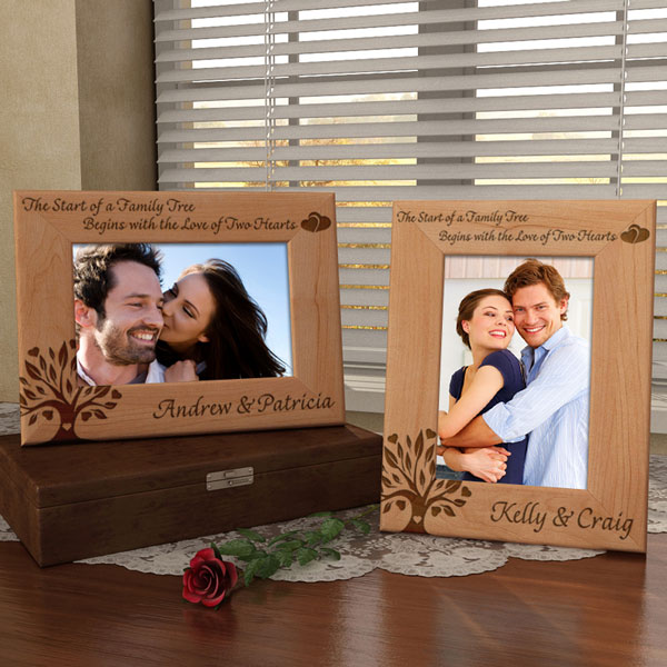 Family Tree Wooden Picture Frame