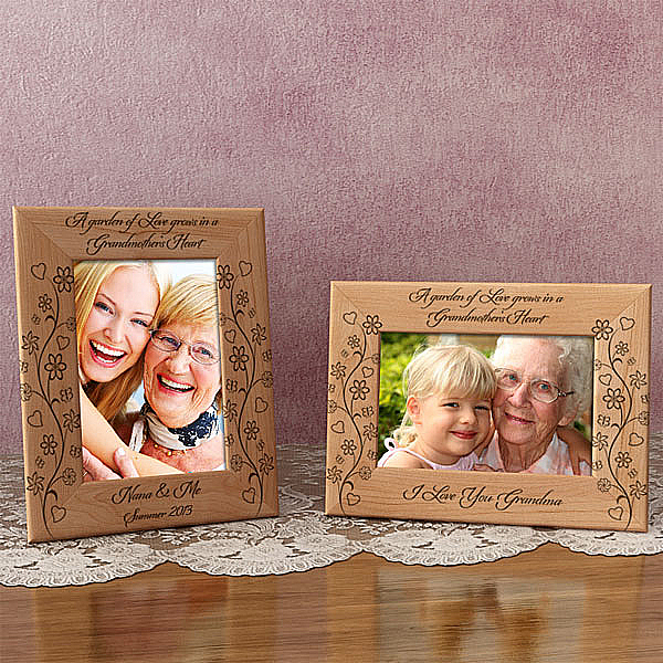 A Garden of Love Wooden Picture Frame