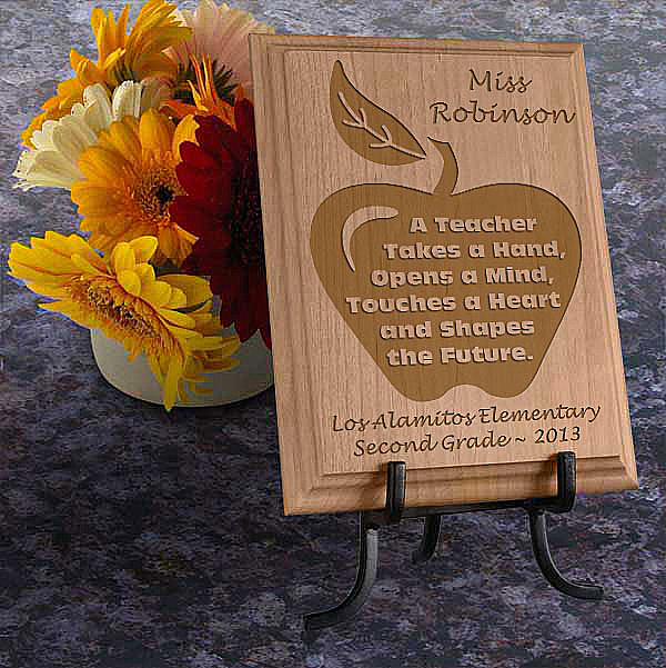 A Teacher Wooden Plaque