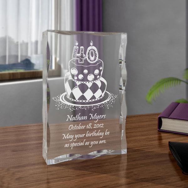 Birthday Cake Keepsake