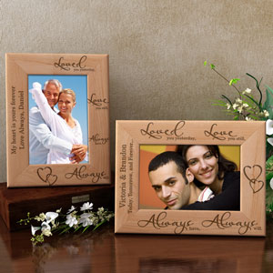 Love You...Always Wooden Picture Frame