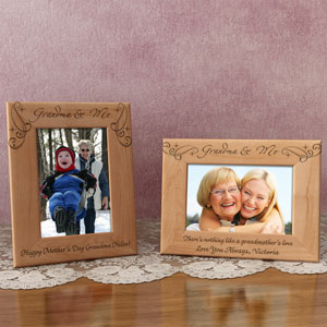 Royale Grandma & Me Wooden Picture Frame