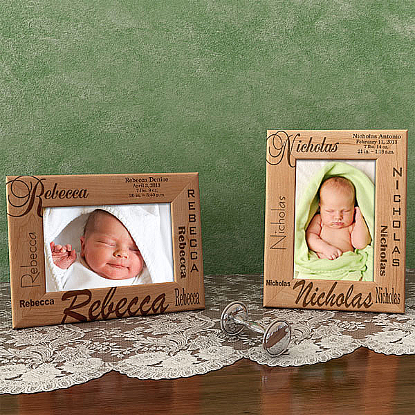 All About Me Wooden Picture Frame