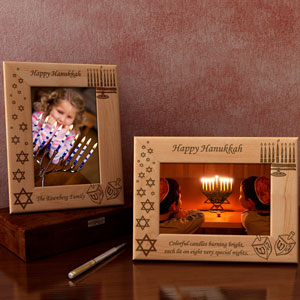 Make Your Own Hanukkah Wooden Picture Frame
