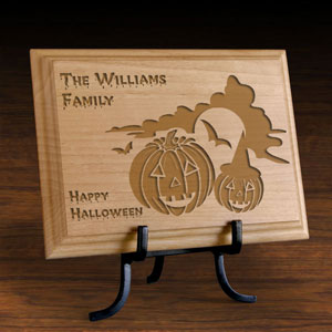 Happy Halloween Wooden Plaque