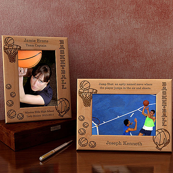 Basketball Wooden Picture Frame