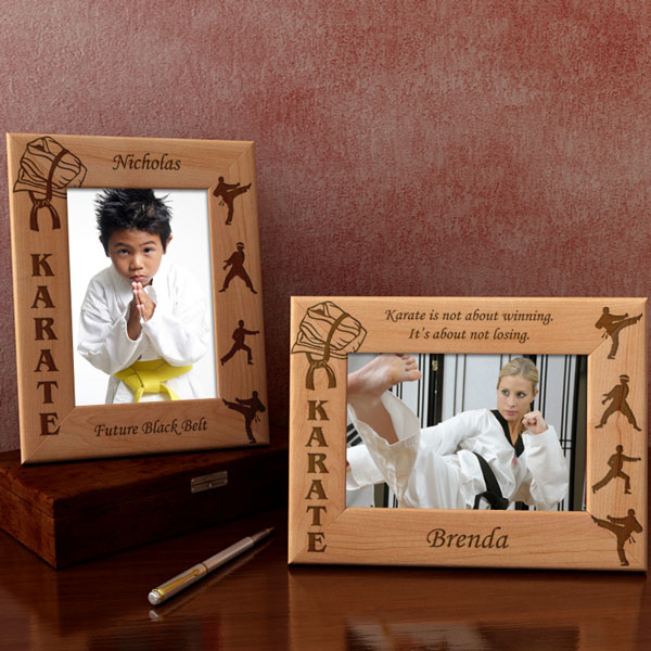 Karate & Martial Arts Wooden Picture Frame