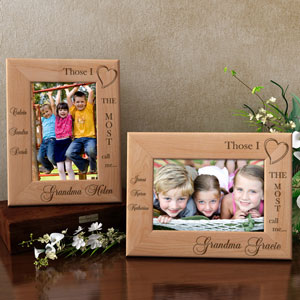 Those I Love Wooden Picture Frame