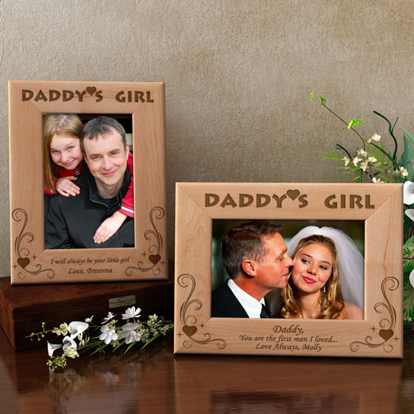 Daddy's Girl Wooden Picture Frame