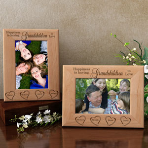 Happiness is You Wooden Picture Frame