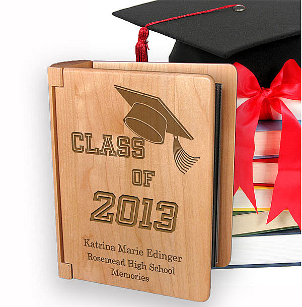 My Graduation Memories Wooden Photo Album