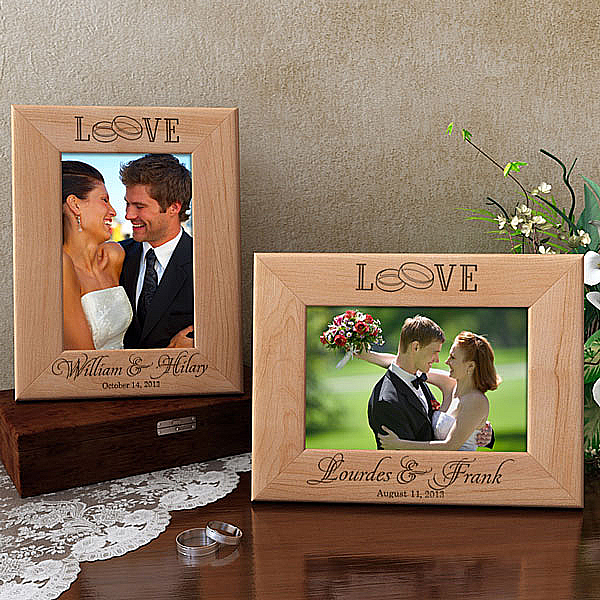 Our Forever Love Wooden Picture Frame