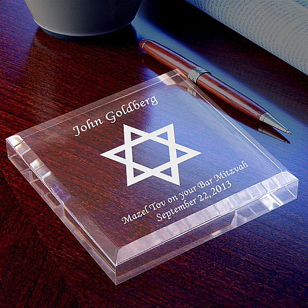 Star of David Keepsake & Paperweight