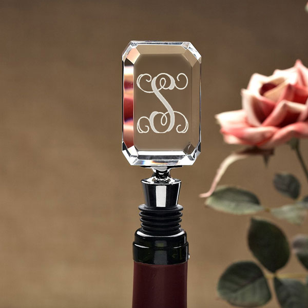 Initial Wine Stopper