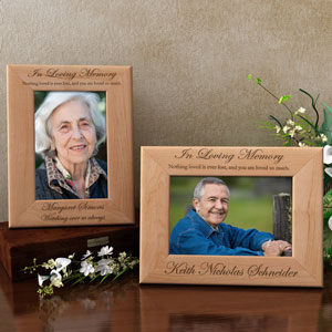 In Loving Memory Wooden Picture Frame