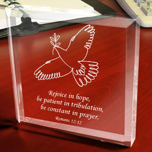 Spirit of Peace Keepsake & Paperweight