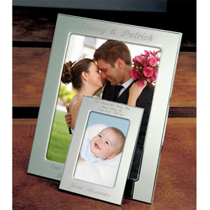 Simply Silver Picture Frame