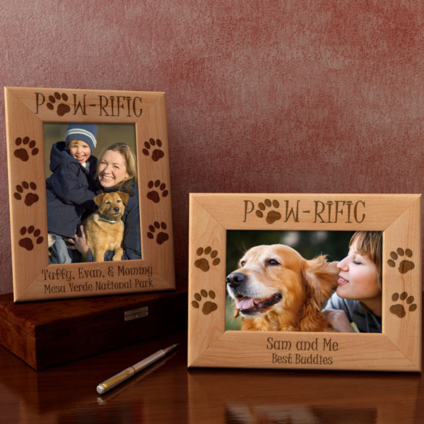 Paw-rific Dog Wooden Picture Frame