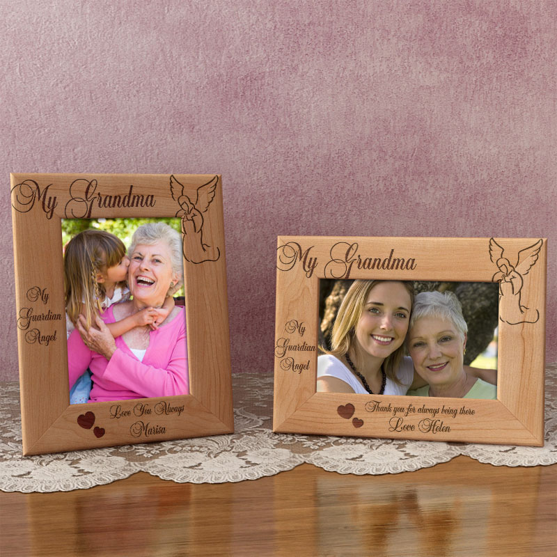 My Guardian Angel Wooden Picture Frame
